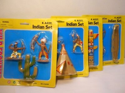 Wild Frontier Western Toys Pretend Play Indian Sets 4 Diff asst Sets 1 ct  # 165