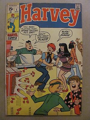 Harvey #1 Marvel Comics 1970 Series Marvel's Archie