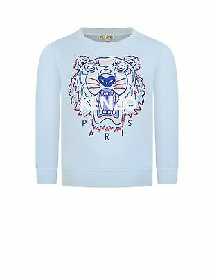 Authentic Kenzo  Blue  Tiger Sweater $140 In Store Latest Collection Sz 12
