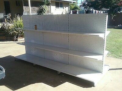 Double-sided Retail Gondola Store Supermarket Shelving Shop Display CHEAP