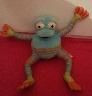 Fimbles Rockit The Frog Soft Bouncy Toy