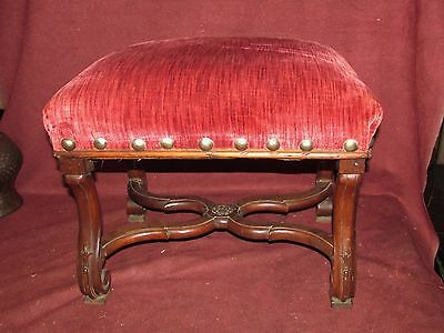 Antique English Bench or Foot Stool