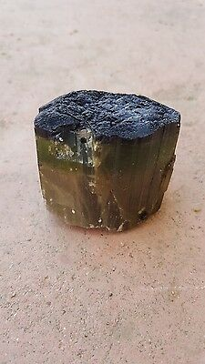 Pd Terminated Bicolor Himalaya Mine Tourmaline Crystal Specimen 98 Grams