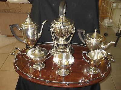 Beautiful Tiffany Co Makers 8 Piece Coffee And Tea Set 17646