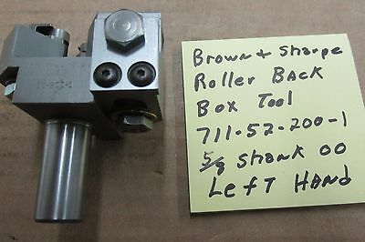 Brown & Sharpe roller back 00 box tool