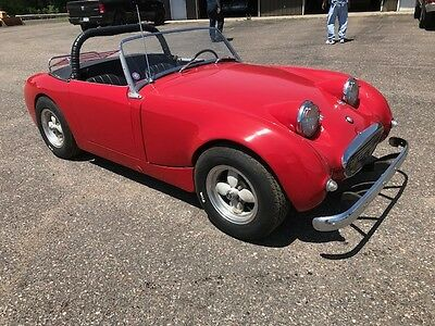 1960 Austin Healey Sprite  1960 AUSTIN HEALEY BUG EYE SPRITE, OLDER RESTORATION, STORED INSIDE SHOWROOM