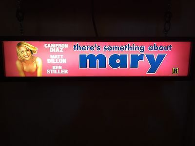 """There's Something About Mary (1998) - Large Movie Theater Mylar 5"""" X 25"""""""