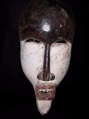 Old Tribal Salampasu Mask Congo Africa Fes- GB8234