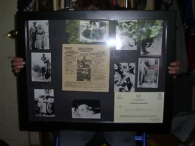 Bonnie & Clyde Wanted Poster Pictures And COA