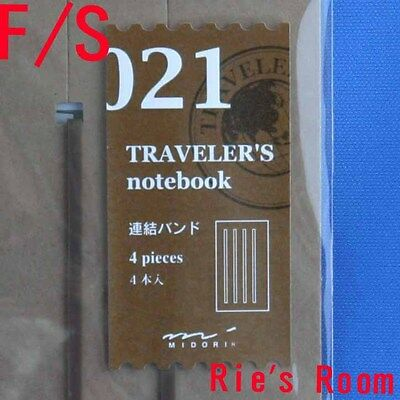 Midori Traveler's Notebook refill 021, Connecting rubber band, regular size