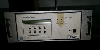 Verry industrial looking Capacitor tester
