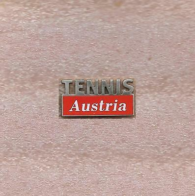 Austria Tennis Federation Official Pin Old Red