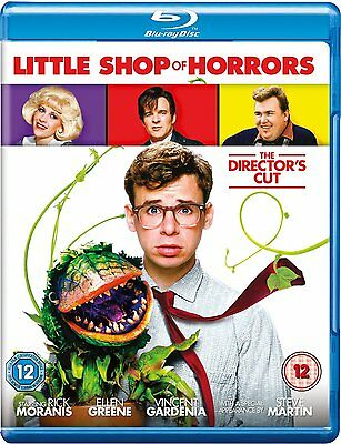 Little Shop of Horrors (1986) The Director's Cut Blu-Ray BRAND NEW Free Ship