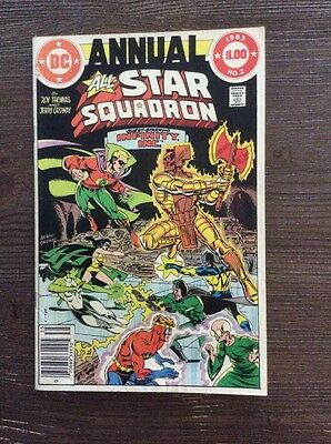 All-Star Squadron Annual # 2 Fine. Infinity Inc App.  Jerry Ordway Art.