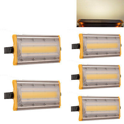 5X 30 Watt COB LED Floodlight Modular Line Type Warm White Outdoor Security Lamp
