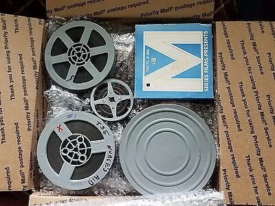 Lot of 52 Old 8 MM Reels Adult Films Stag Nude 1940's to 1970's
