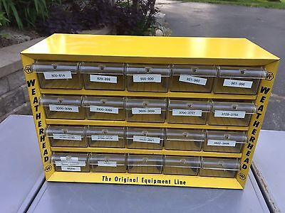 Weatherhead Display Store Metal Rare Industrial Cabinet Equipment Gas Station