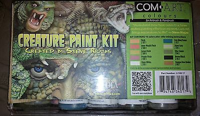airbrush paint set creature paint kit by steve rojas