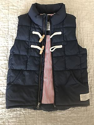 Country Road boys navy puffer vest size 7