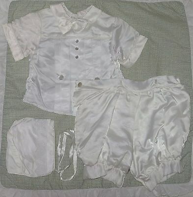 Baby Boy Christening 3 Pieces Outfit by Claire Schwartz 12-18 Months?
