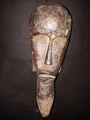 Old Tribal Fang Figure Gabon Africa Fes- GB