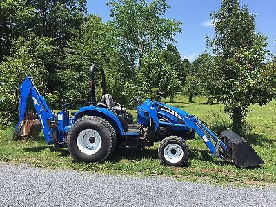 New Holland Tc45D 4X4 Tractor Loader Backhoe, Hydro, Low Hours Cheap Shipping