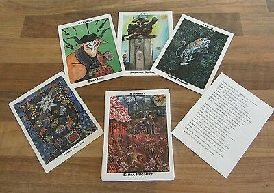 Astrology Tarot Pack - limited edition, artists designs.