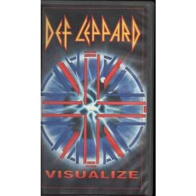 DEF LEPPARD Visualize VIDEO UK Bludgeon Riffola 1993 19 Track Vhs Video 90