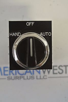 GE General Electric HOA Hand-Off-Auto 3 position Selector switch CR104P USED