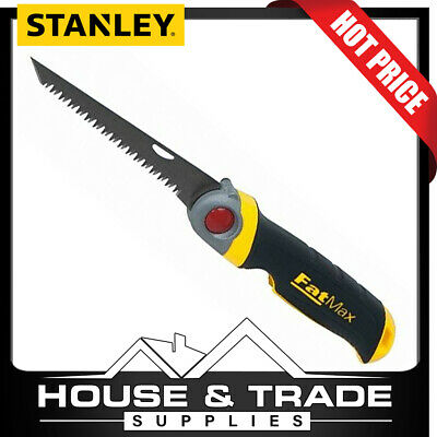 """NEW STANLEY 20-556 FAT MAX DRYWALL 9/"""" OA 6/"""" BLADE JAB HAND SAW SALE 6581565"""