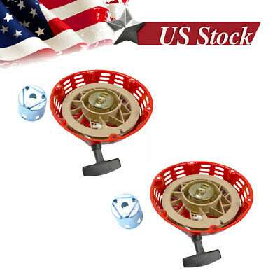 2pk Pull Starter Recoil Cover With Flange Cup 11HP & 13HP Fits Honda GX340 GX390