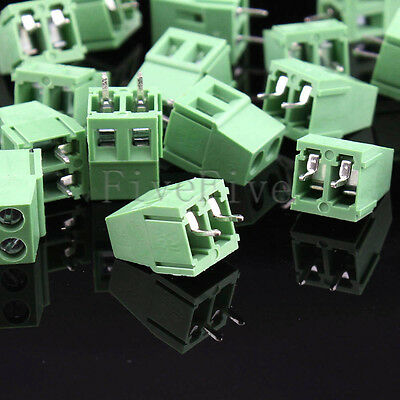 KF128-2 Pin 5.08mm/0.2'' straight PCB Universal Screw Terminal Block Connector