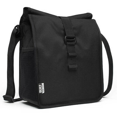 NEW Built NY Crosstown Black Lunch Bag