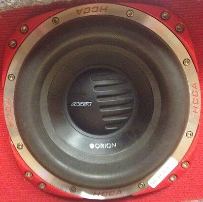"""Orion HCCA10 1500W 10"""" HCCA Series Dual Ω PRo CoMPeTiTioN SuB SuBWooFeR SiNGLe"""