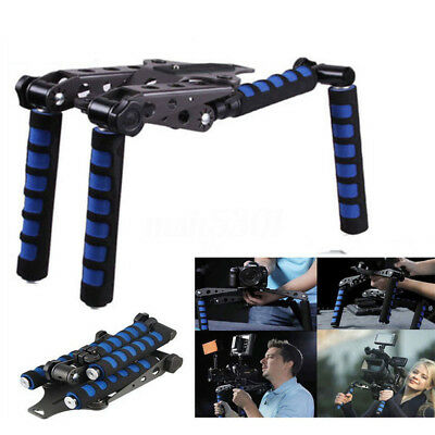 Handy Rig Shoulder Mount Steady Support Stabilizer Kit For DSLR DV Video Camera