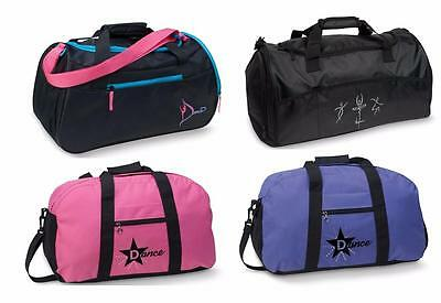 NEW Dance Bags LARGE Duffel Gymnast Pink Black Purple Ballet Jazz Hip Hop MANY