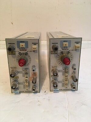 Tektronix 5A21N Differential Ampl. Lot Of 2