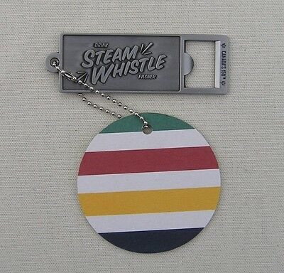 Steam Whistle * 2017 Bottle Opener With Tag * New * Mint * Beer * Brewery * Xlnt