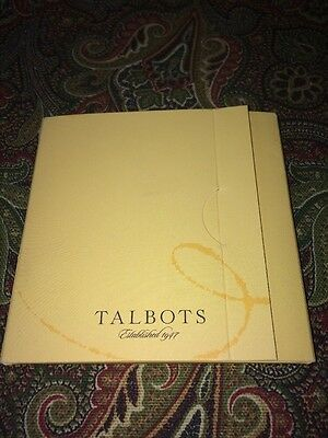 TALBOTOLOGY NEW DEFINITIONS FOR SCARF ENTHUSIASTS 4in CARDS TALBOT ADVERTISING
