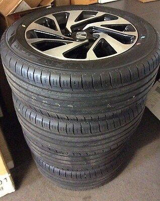"GENUINE HONDA CIVIC 16"" VTi 2016-2017 DUNLOP TYRES AND ALLOY WHEELS SET OF 4"