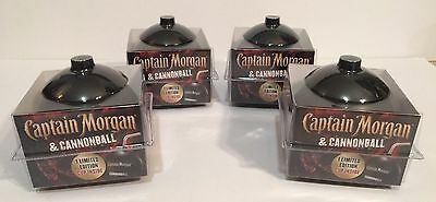 Captain Morgan Cannonball Plastic Cups Rum Limited Edition  4 PIECES! 16 oz each