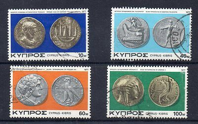 CYPRUS 1972  SG 393 to 396 used