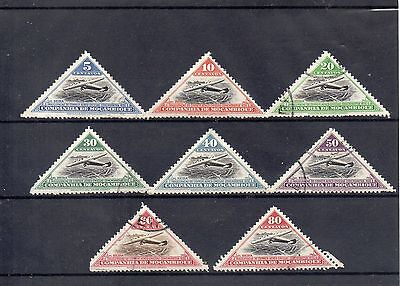 MOZAMBIQUE 1935  SG 261 - 262 - 264 to 266 + 268 to 270 used