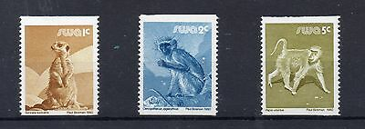 SOUTH WEST AFRICA 1980 Coil stamps  SG 366 to 368 U/M