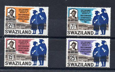 SWAZILAND  1967 SG 128 to 131 m/m