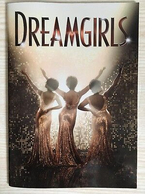 Dreamgirls Musical Theatre Programme Brochure Savoy Theatre London Amber Riley