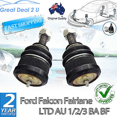 Premium Ford Falcon Au Ba Bf Territory Sx Sy Front Upper Ball Joint Kit Set Of 2