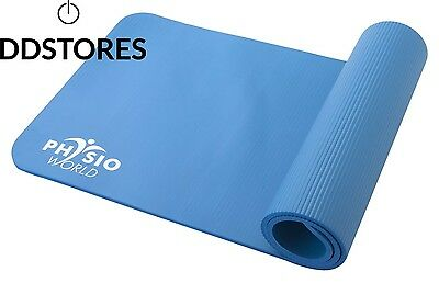 PhysioWorld Exercise Mat 15mm Blue