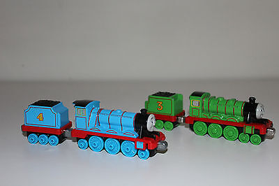 Thomas The Tank Engine Take n Play Diecast Henry and Gordon with Tender's