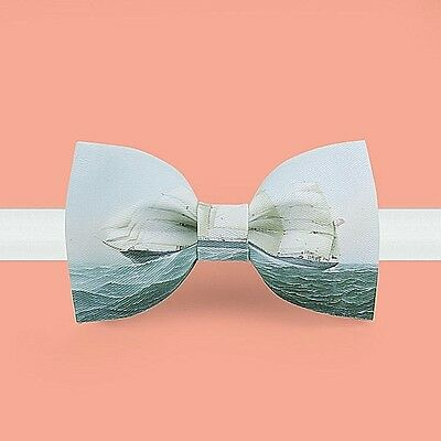 Men Bow Ties  Handmade  Design Bow Ties With Gift Box Customized Made Acceptable